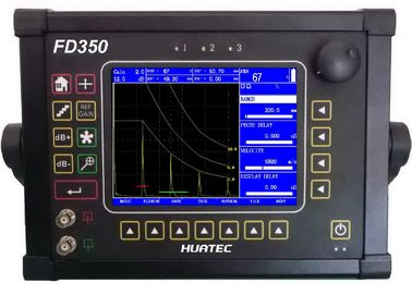 چین FD350 Ultrasonic Flaw Detector Big Display with Color TFT LCD 640 X 480 pixels توزیع کننده