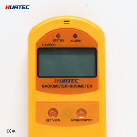 چین Radiation Monitoring Devices X- ray , γ ray , Soft and hard β radiometer dosimeter FJ-6600 soil surface radiation توزیع کننده